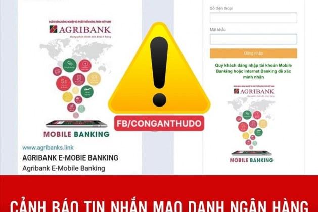 """Cảnh báo tin nhắn mạo danh ngân hàng """"lì xì"""" dịp tết"""