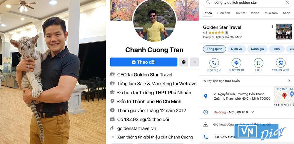 Nhân vật được cho là cánh ktay phải của ông Võ Hoàng Yên theo chia sẻ trên Facebook Nguyễn Phương Hằng
