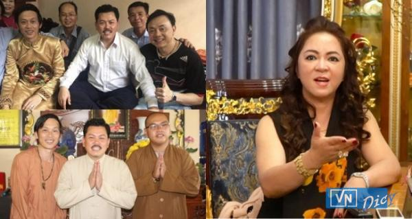 """Bà Nguyễn Phương Hằng nêu đích danh nhiều nghệ sĩ nổi tiếng và gọi chung là """"đám nghệ sĩ"""""""
