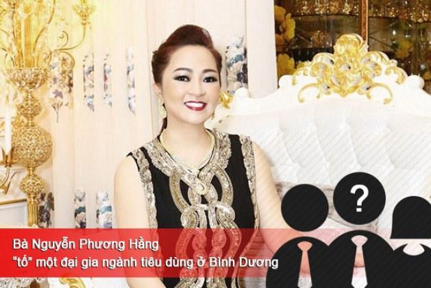 """Bà Nguyễn Phương Hằng """"tố"""" một đại gia ngành tiêu dùng ở Bình Dương"""