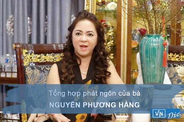 Tổng hợp phát ngôn của bà Phương Hằng trong các clip livestream