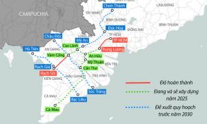 Sẽ hoàn thành 2 tuyến cao tốc nối Đồng Tháp – TP HCM trong 5 năm tới