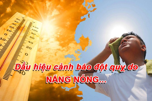 Dấu hiệu đột quỵ do nắng nóng, cách sơ cứu vào phòng tránh
