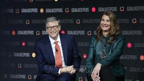 Tỷ phú Bill Gates thông báo ly hôn với bà Melinda