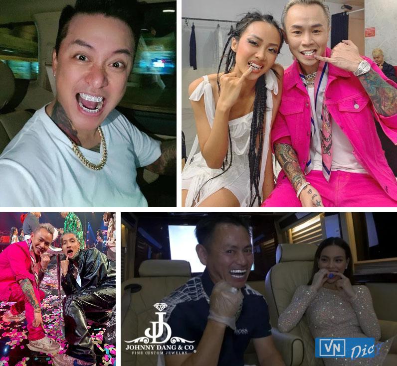 Nhiều sao Việt cũng là khách quen của Johnny Dang