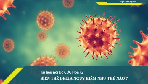 Biến thể Delta có khả năng lây nhiễm ngay cả khi đã tiêm Vắc-xin