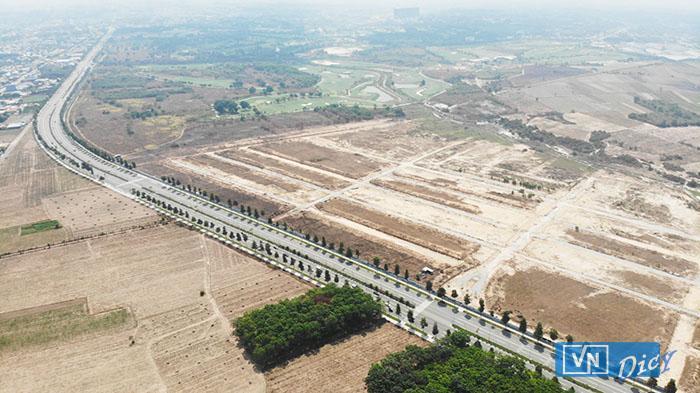 Khu đất liên quan đến sai phạm của cựu Bí thư Trần Văn Nam