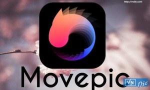 Movepic for Android – Phần mềm tạo ảnh chuyển động vô hạn