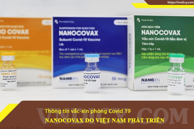 Vắc-xin NANOCOVAX phòng bệnh Covid 19 do Việt Nam phát triển