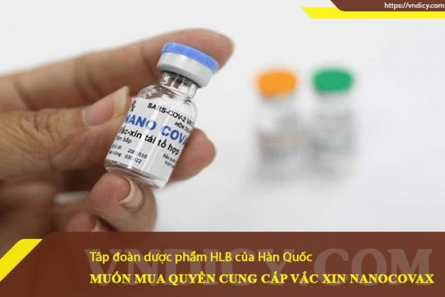 Công ty của Hàn Quốc mua quyền cung cấp vaccine Nanocovax