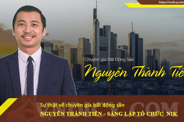 """Sự thật về """"chuyên gia đầu tư bất động sản"""" Nguyễn Thành Tiến"""