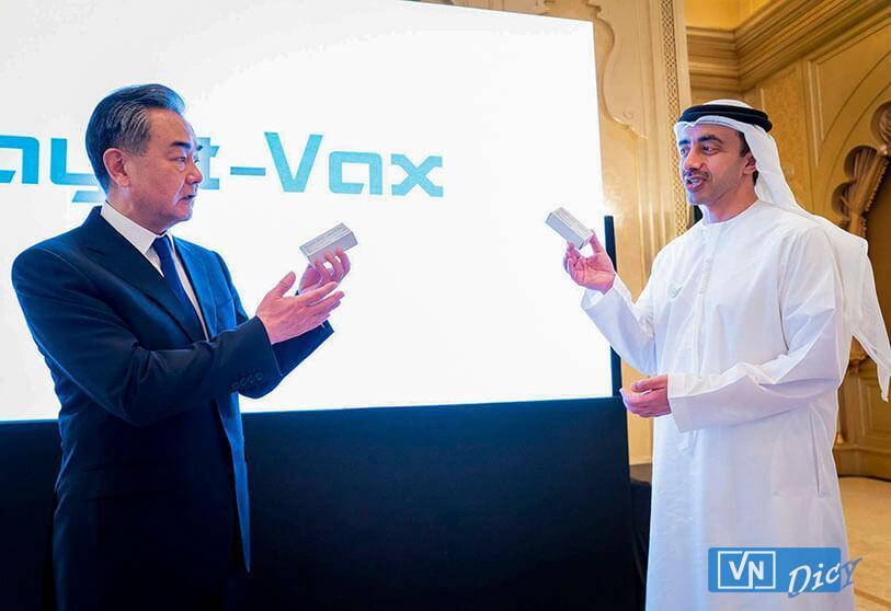 Vaccine Hayat-Vax đánh dấu sự hợp tác giữa Trung Quốc và UAE