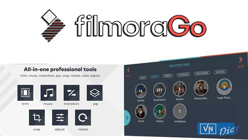 Phần mềm chỉnh sửa video trên HĐH Android