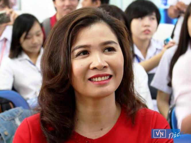 Hình ảnh nhà báo Đặng Thị Hàn Ni