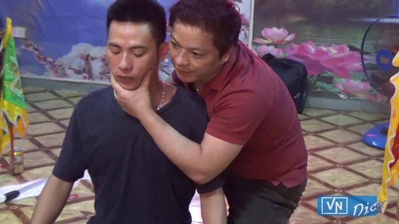 Ông Lương Gia Long trong một clip đăng trên Youtube