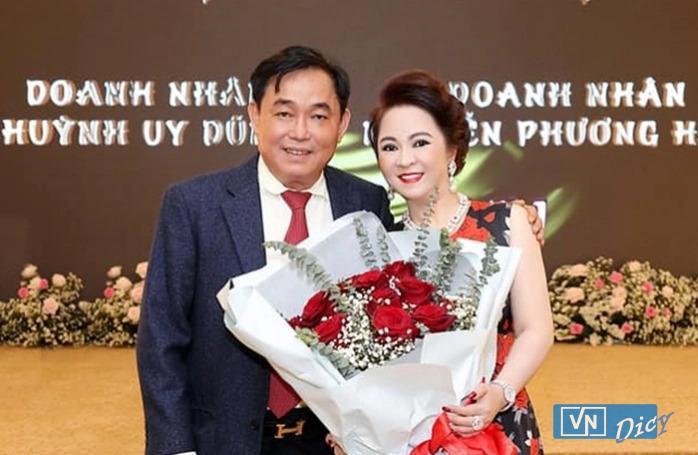 Vợ chông doanh nhân Huỳnh Uy Dũng và Nguyễn Phương Hằng