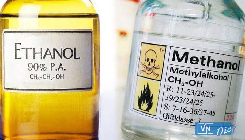 Cồn Ethanol và Methanol, những điều cần phải biết